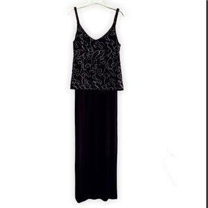 💥3/$20 Alex Evenings Sleeveless Maxi Dress